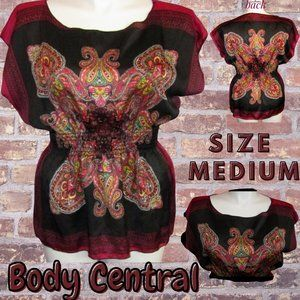 Body Central Women's  Patterned Top Size Medium